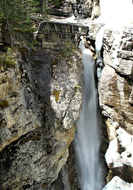 Upper Falls, Johnston Canyon, Banff, Banff National Park
