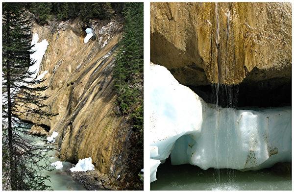Limestone, Johnston Canyon, Banff, Banff National Park