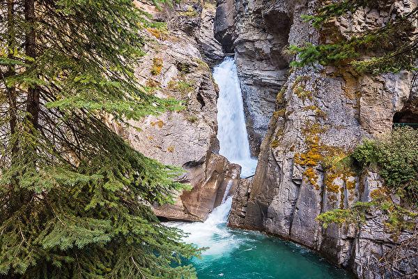 Lower Falls, Johnston Canyon, Banff, Banff National Park