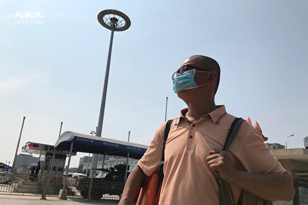 组图:北京火车站的父亲节