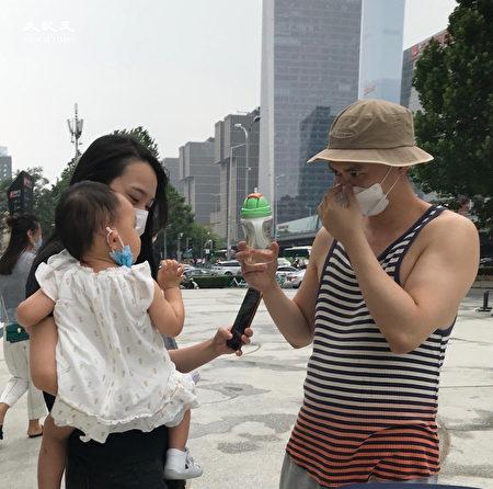 2020年6月25日,北京街頭。(大紀元)