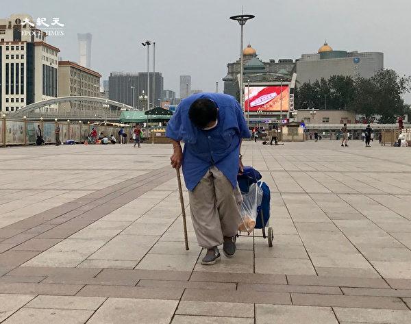 2020年6月25日,北京站前廣場。(大紀元)