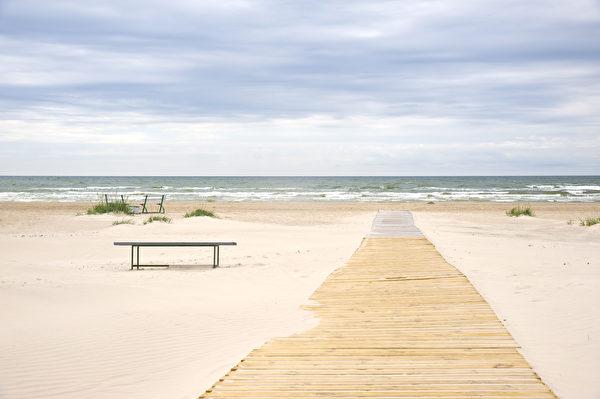 Jurmala Beach, 海灘