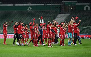 德甲第32輪,拜仁客場1:0戰勝雲達不萊梅