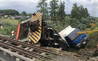 溪湖糖厂小火车撞上小货车 270名乘客受惊吓