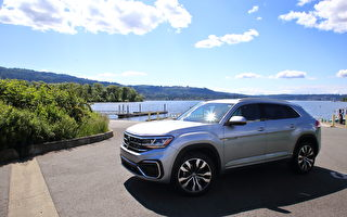 車評:減兩座 增空間 2020 Volkswagen Atlas Cross Sport
