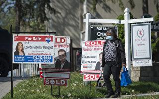 多伦多5月房屋销量环比上升 房价持续上涨
