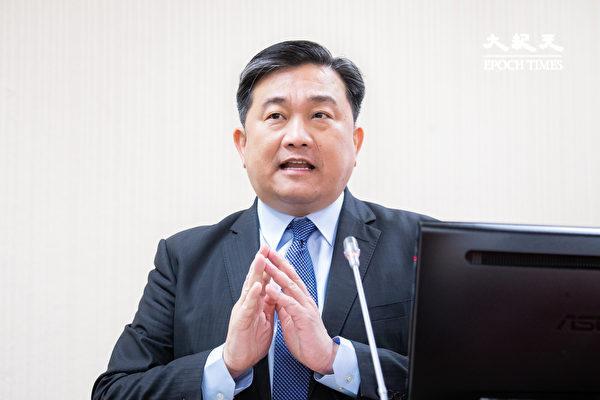台灣立委王定宇,資料照。(陳柏州/大紀元)