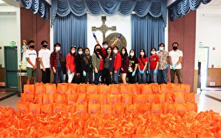 橙县亚美老人中心致赠长辈200份父亲节礼物