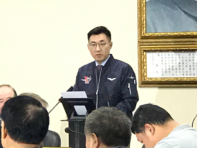 提促美協防及台美復交 江啟臣:捍衛中華民國