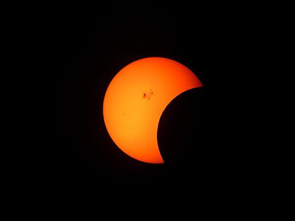 日食是一種下凌上的現象,咎在人君;日代表德,日食無光,就是人君失德。 (pixabay)