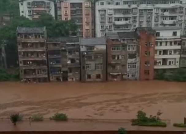 1122萬人已受災 長江中下游將連降雨10天