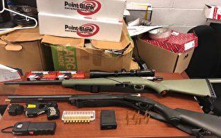 图片新闻:史丹顿警局缴获2支大火力枪