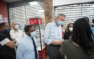 紐約市長:有組織的犯罪分子搶劫  與抗議無關