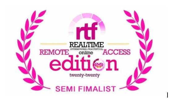 《歸途》獲尼日利亞Realtime國際電影節準決賽入圍證書。(新世紀影視基地提供)