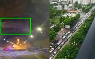 【現場視頻】四川隧道洞頂內襯脫落 砸死一人