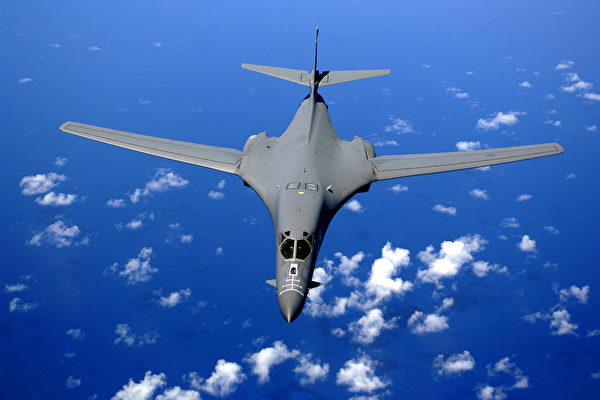 B-1B超音速轟炸機。(Wikimedia commons)