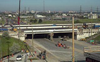 Finch輕軌線:400高速路橋樑更換竣工