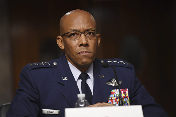 美首位非裔空军参谋长 参议院通过任命案