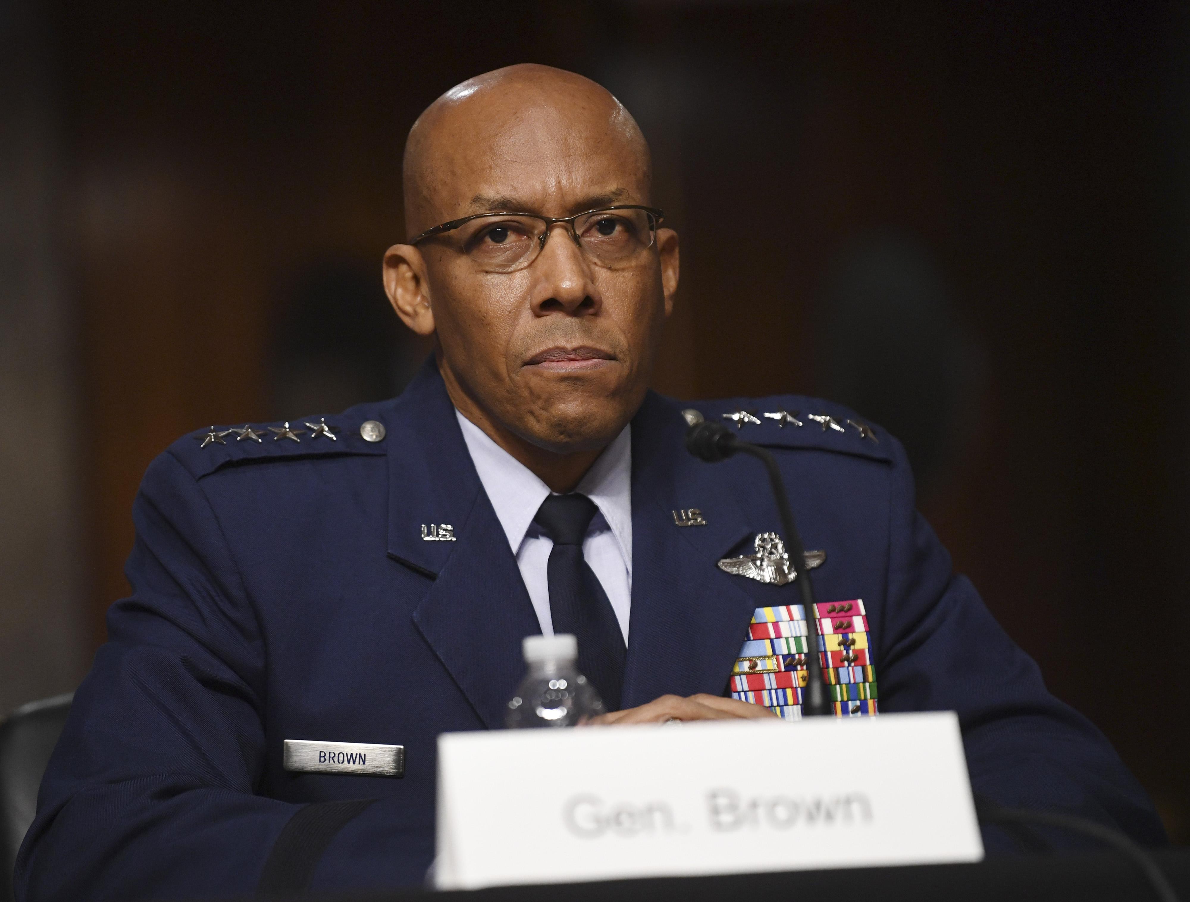 美首位非裔空軍參謀長 參議院通過任命案