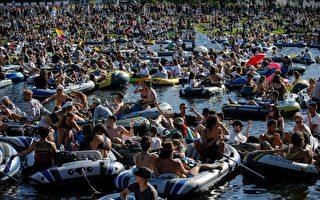 【德國疫情6·1】柏林舉辦大型水上抗議活動