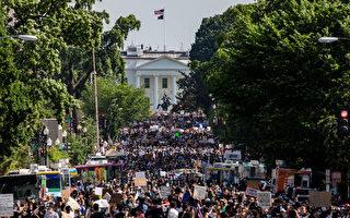 美首都爆发大规模游行示威