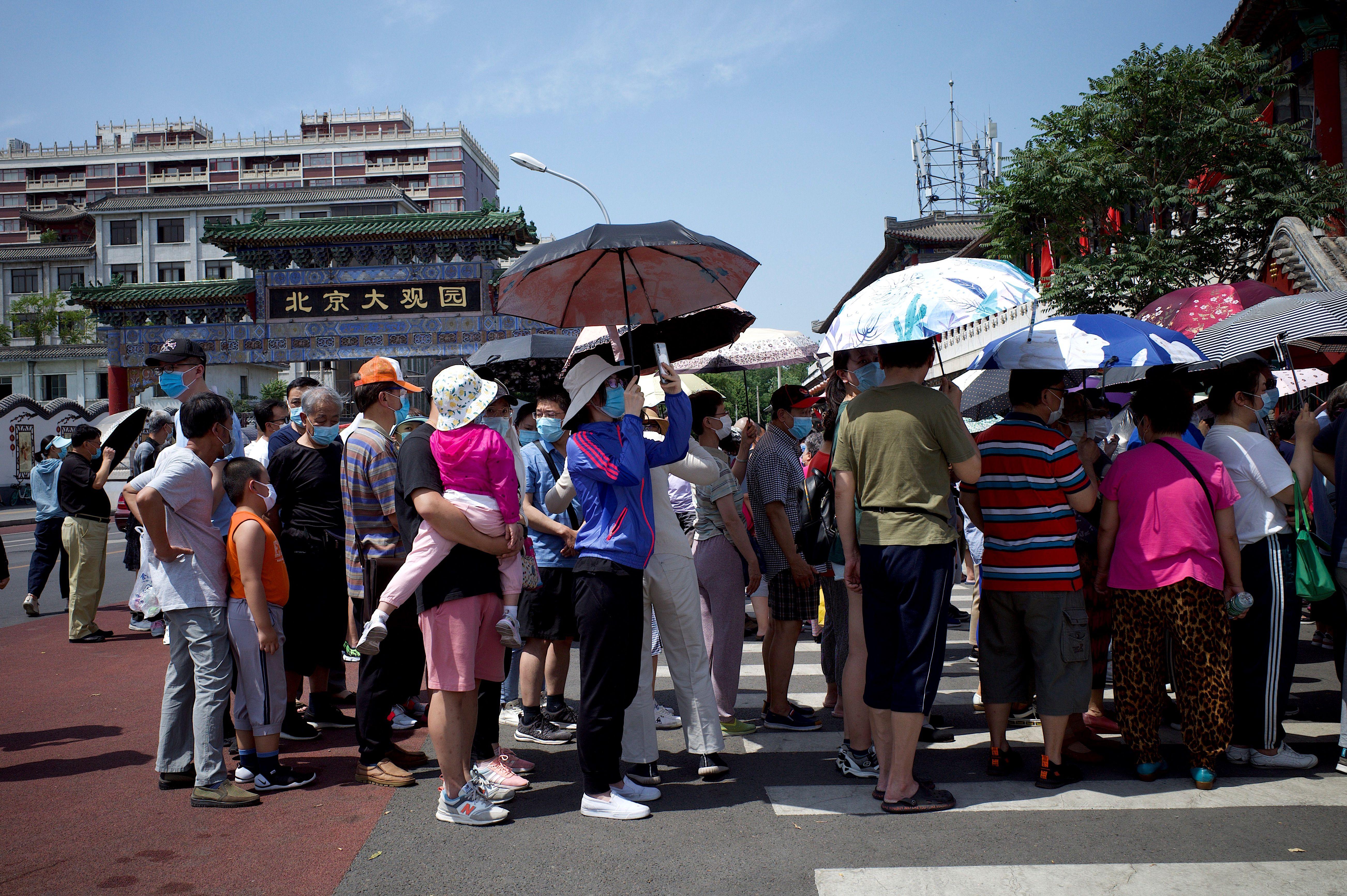 北京疫情擴散10個區 累計4個高風險地區