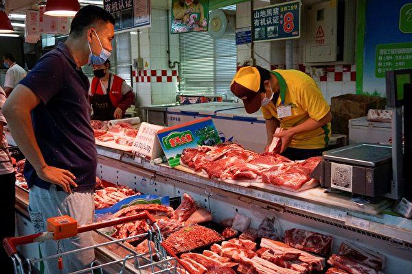 大陆猪肉批发价格连续五周上涨