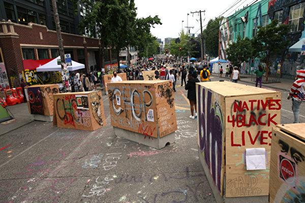 西雅圖「自治區」爆槍案 警協主席向市長喊話
