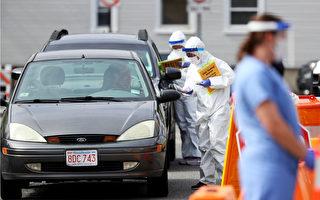 麻州設臨時病毒檢測點 Roxbury被測者1%染疫