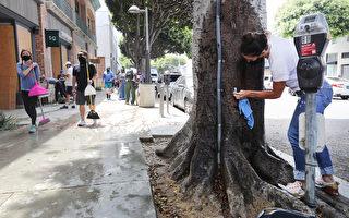 洛杉磯商家民眾嘆遭疫情暴徒雙重打擊