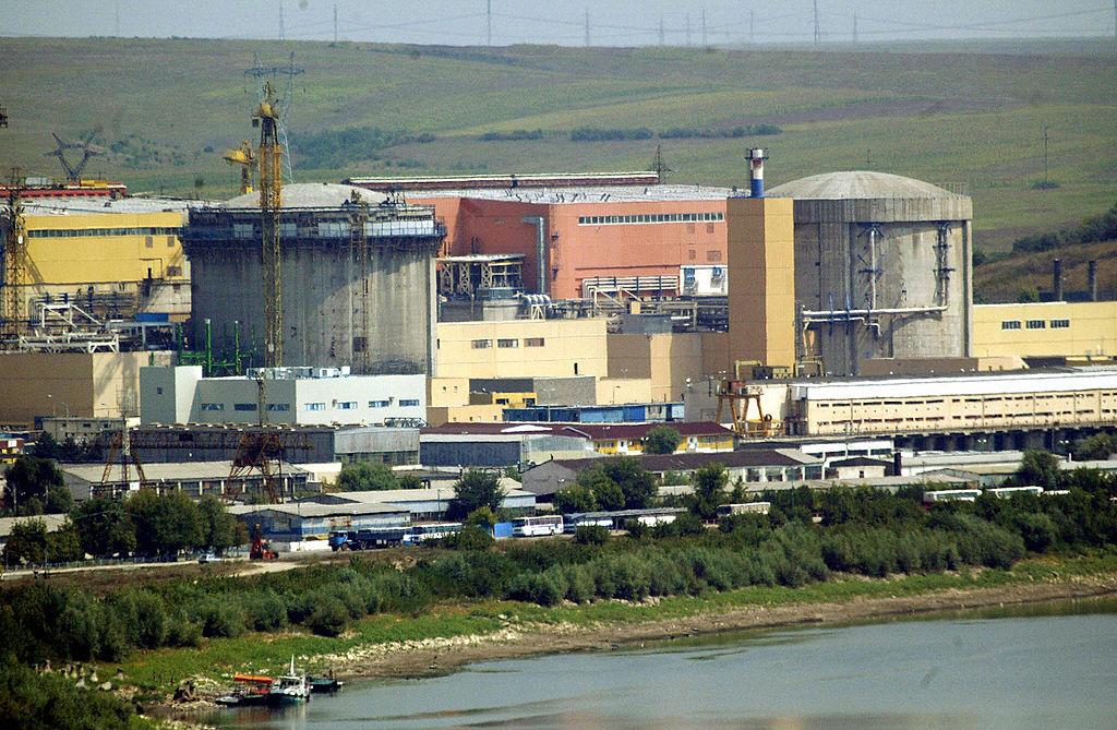 2020年5月,羅馬尼亞政府要求國有的核電公司(Nuclearelectrica)結束其與中共央企中廣核集團的合作關係。圖為中共原本計劃參與建設的切爾納沃達核電站(Cernavoda Nuclear Power Plant)。(DANIEL MIHAILESCU/AFP via Getty Images)