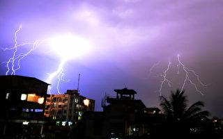 印度兩天內一百多人死於閃電雷擊