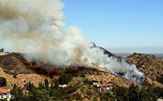 南加多地周二发布高温警报 多起山火获控