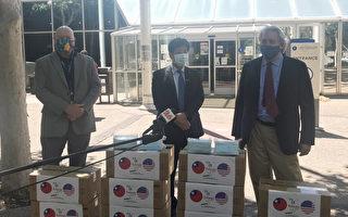 台湾一万片口罩赠硅谷圣郡  经济重开情形下呼吁防传染