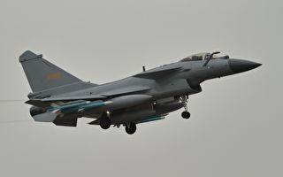 兩週內第7度!共機殲10侵犯台灣防空識別區
