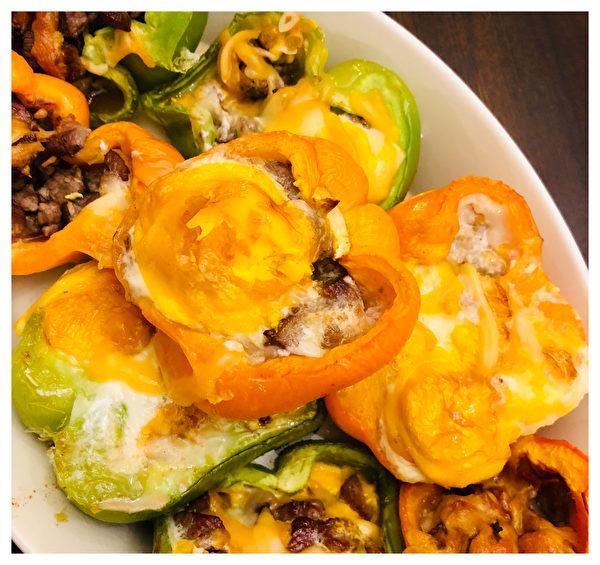 【防疫餐自己做】 黃金蛋三色椒