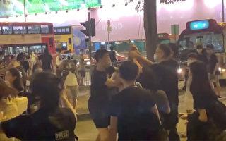 保護大紀元員工受傷 香港男青年:無怨無悔