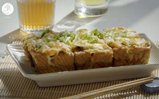 日式烤豆腐~炙燒酥皮 佐以不失敗「自製醬料」