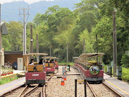 想要搭乘舊山線鐵道自行車的乘客,也可以在龍騰站上車,規劃龍騰到鯉魚潭的行程。