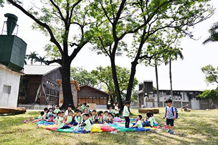 嘉義製材所已成為孩子們戶外教學場所。