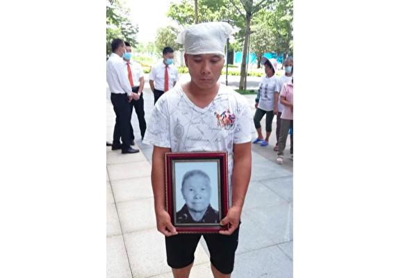 【现场视频】广西省柳州市强拆打死86岁老人