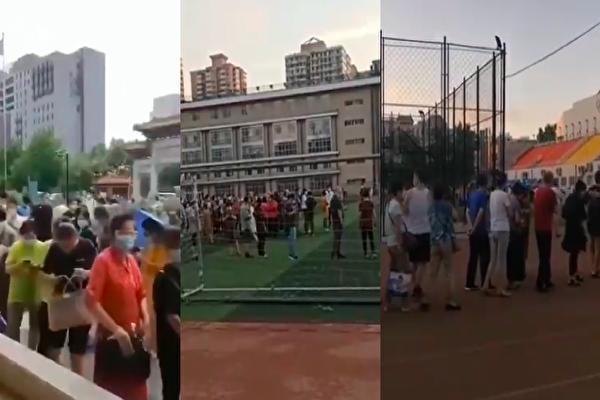 【現場影片】北京多地民眾大排長龍做檢測