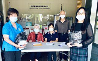 守护侨胞 侨委会代采台湾布口罩9千片抵洛