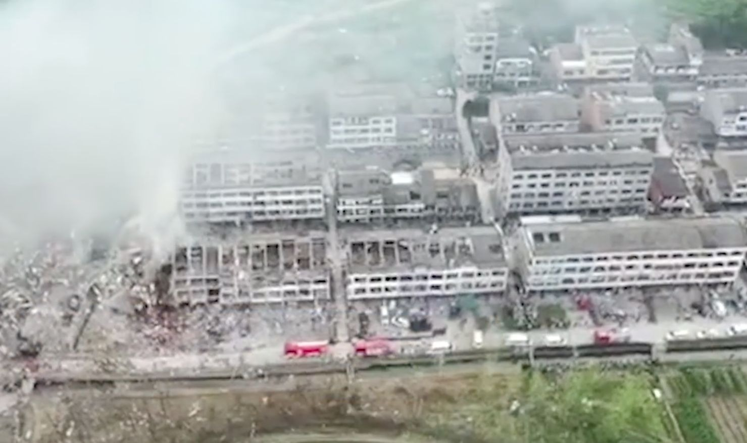 浙江油罐車大爆炸 致200餘人死傷 現場慘烈