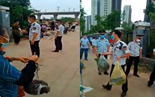【現場視頻】朝令夕改 武漢城管驅趕擺攤農民
