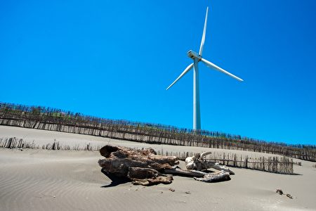 草漯沙丘潮音海观景步道落成启用,打造桃市首座地质公园。