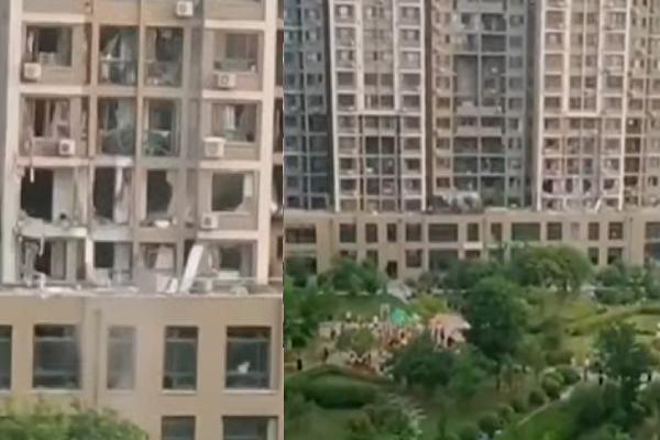 【现场视频】辽宁小区煤气爆炸 致3死4伤