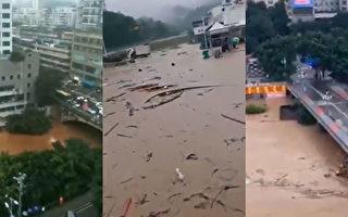 大陆南方豪雨洪涝肆虐 受灾人群继续扩大