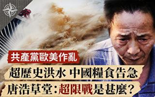 【十字路口】大洪水猛扑鱼米之乡 中国粮食告急